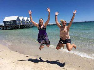 Busselton Jetty Jump For Joy