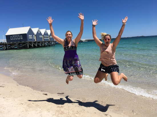 Busselton Jetty Jump For Joy