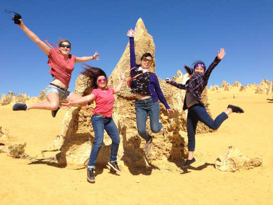 Pinnacles jump for joy
