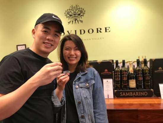 Wine tasting in the Swan Valley
