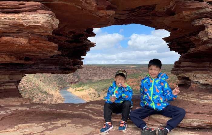 Kalbarri Gods window